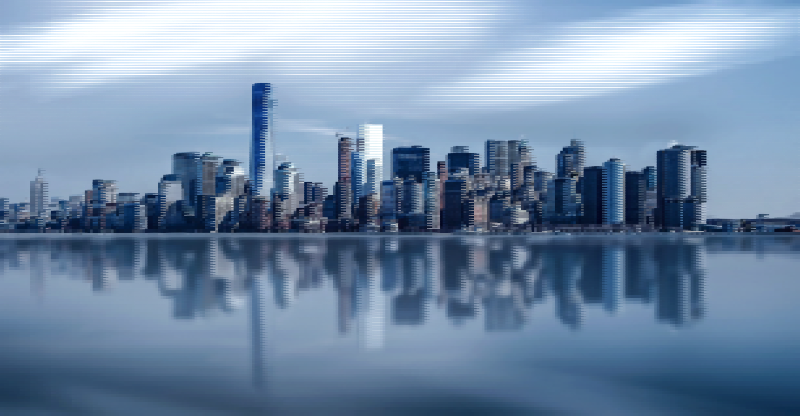 Surreal New York Skyline 2