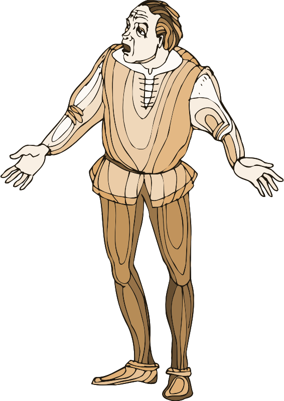 Shakespeare characters - Balthazar - Openclipart