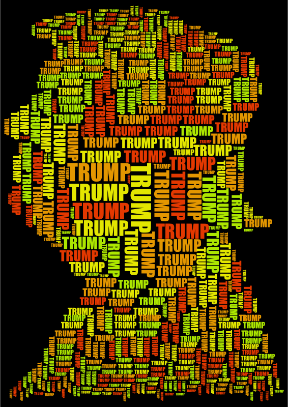 Trump Profile Word Cloud