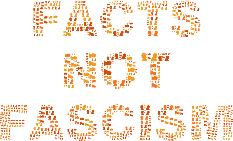 Facts Not Fascism No Background