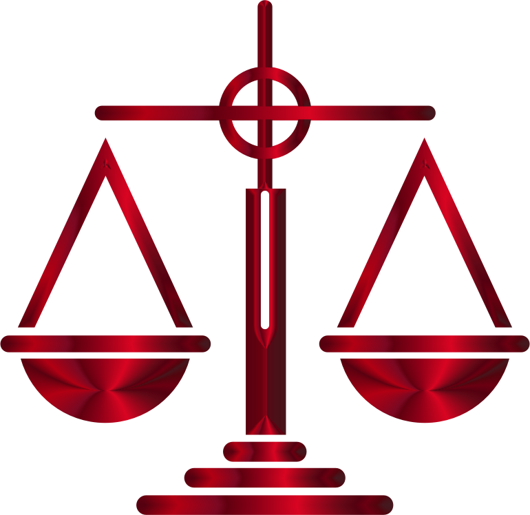 Sanguine Scales Of Justice Icon