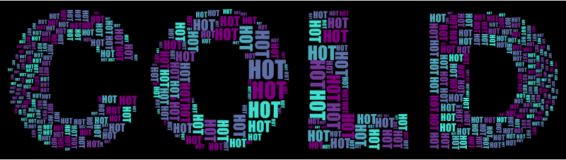 Hot And Cold Typography 2