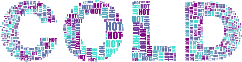 Hot And Cold Typography 2 No Background