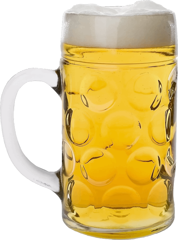 Glass of lager 2