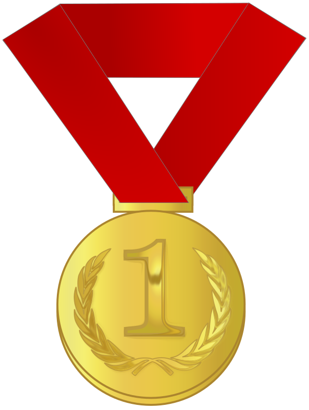 Gold medal / award