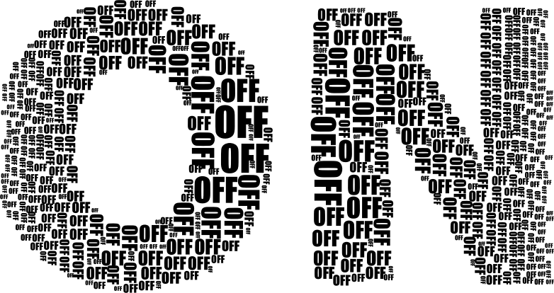 On And Off Black