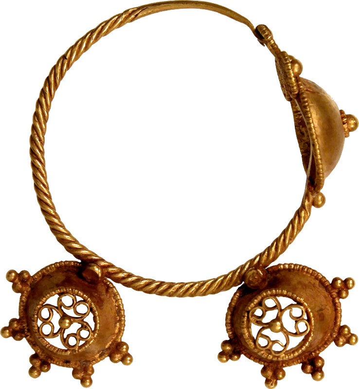 7th century earring