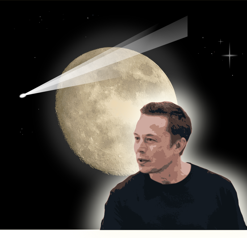 Elon Musk and the Moon