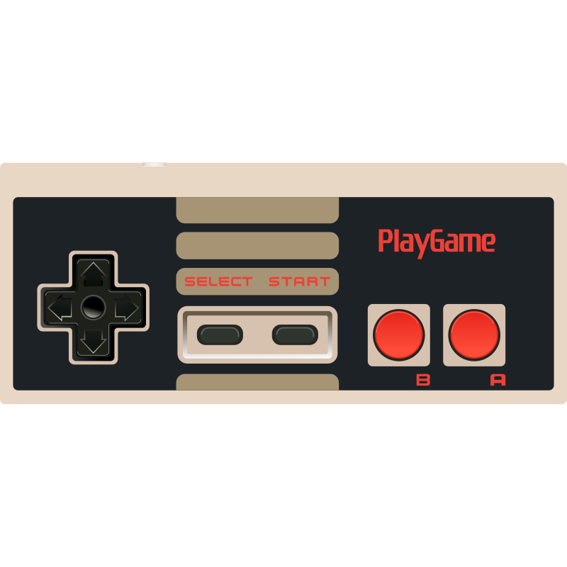 Video Game - NES Controller