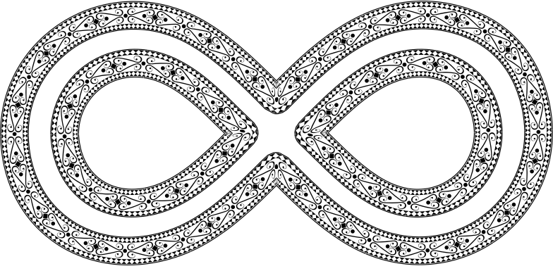 Decorative Ornamental Infinity
