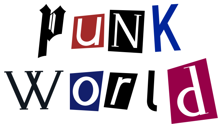 """Punk World"" Artwork"