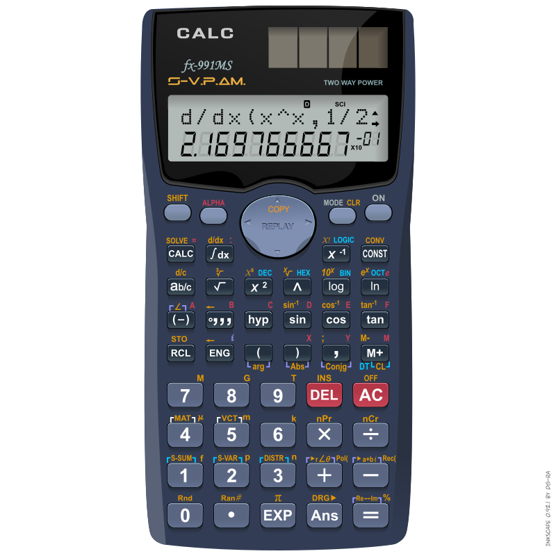 Calculator – Calc fx-991ms