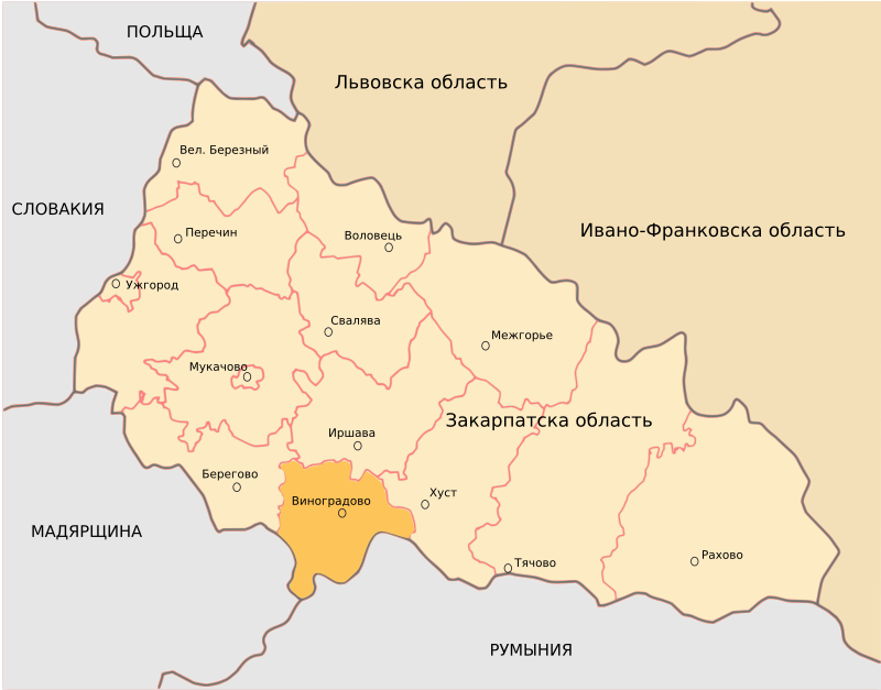 Vinohradiv District