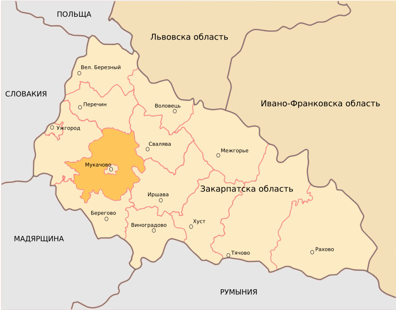 Mukacheve District