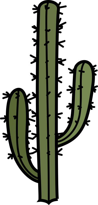 cactus with arms