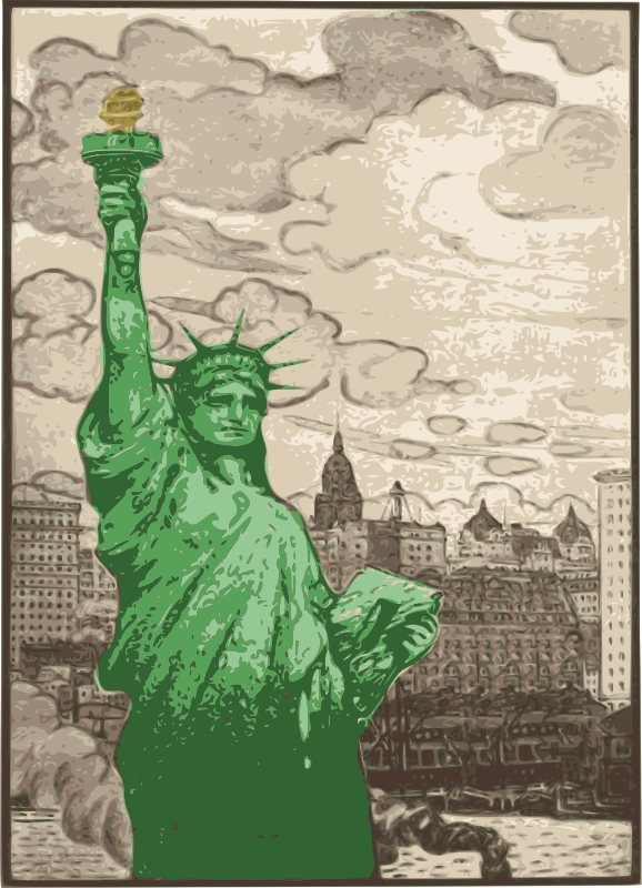Classic Statue of Liberty