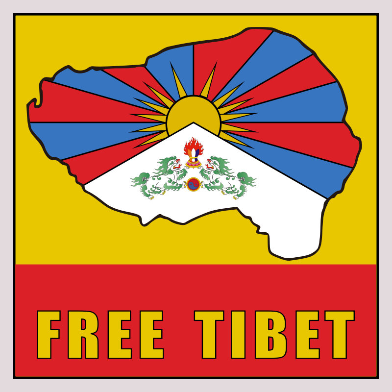 FreeTIbet sticker