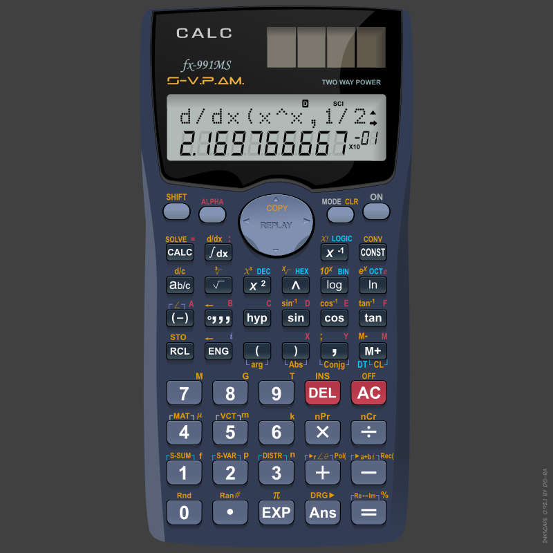 calculator refixed