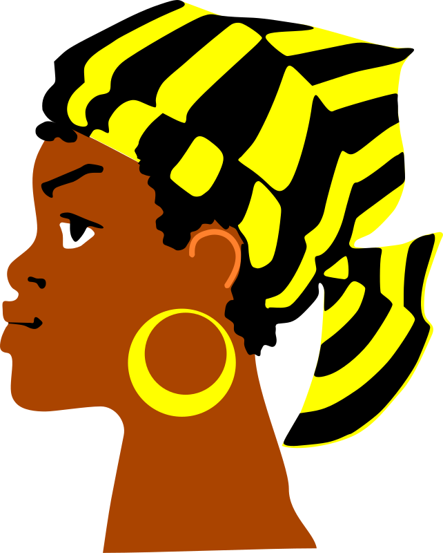 African Lady's Head