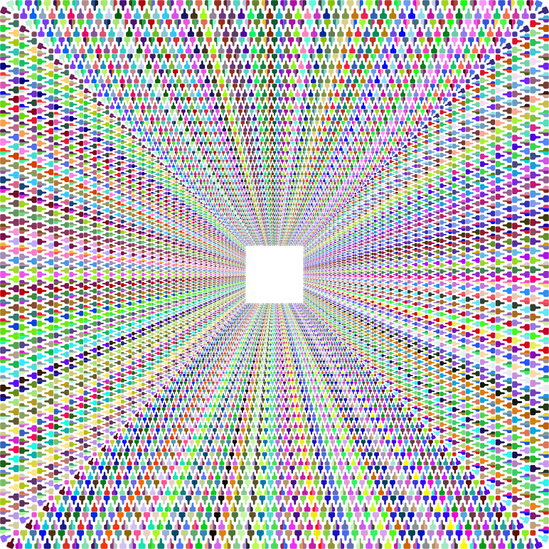 Zipper Tunnel Prismatic No Background