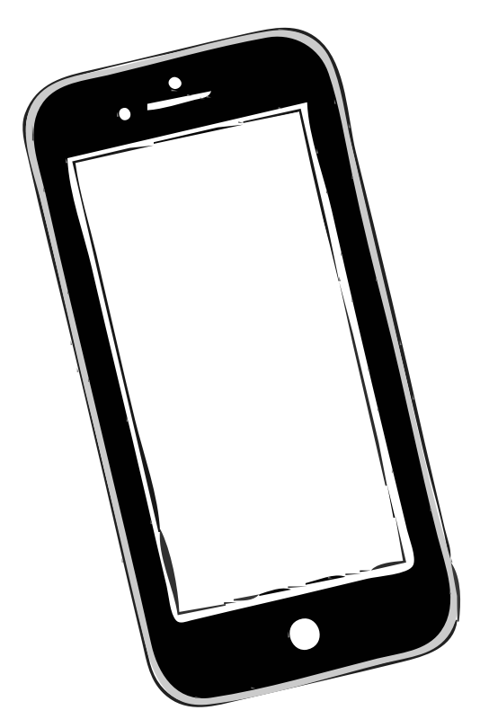 sending I-Phone to open clipart.org