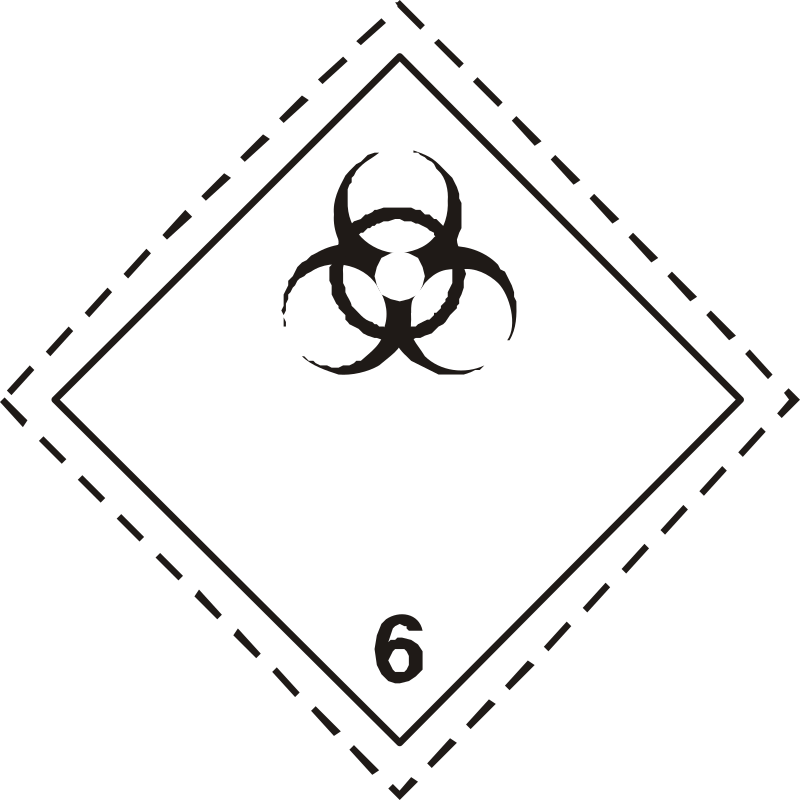 ADR pictogram 6.2-Infectious substances