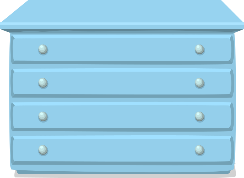 Chest of drawers from Glitch
