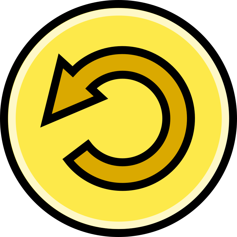 Button - Revert (Yellow)