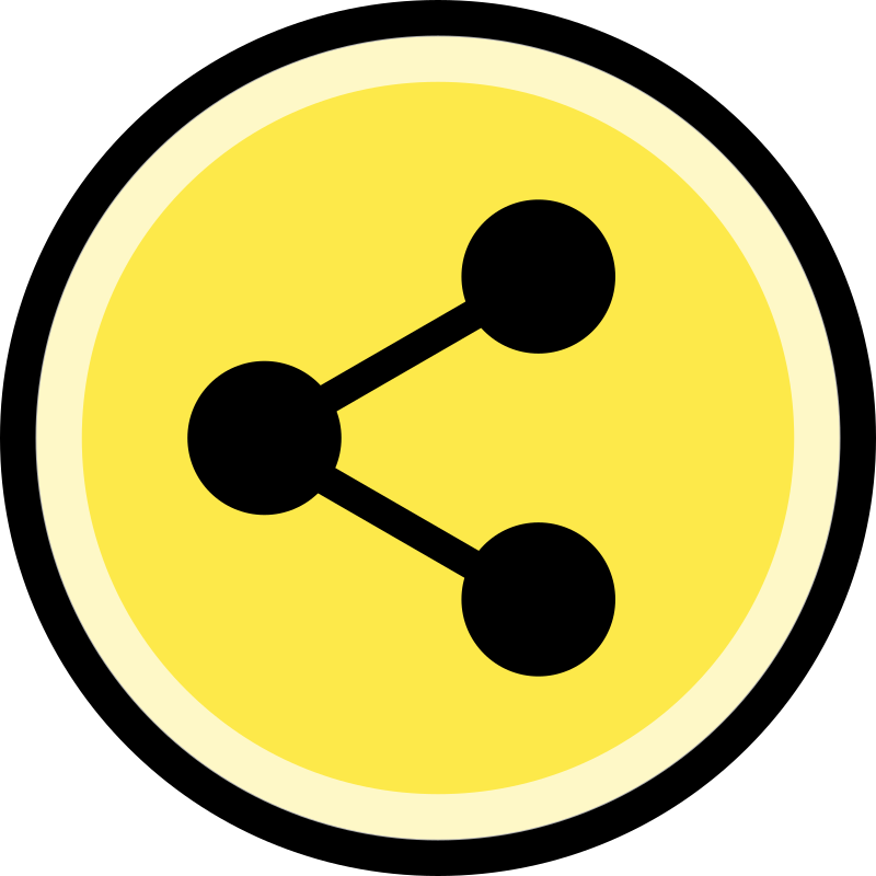 Button - Share (Yellow)