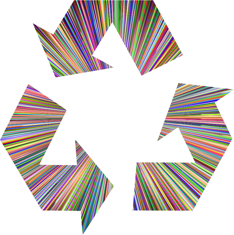 Chromatic Recycling Symbol