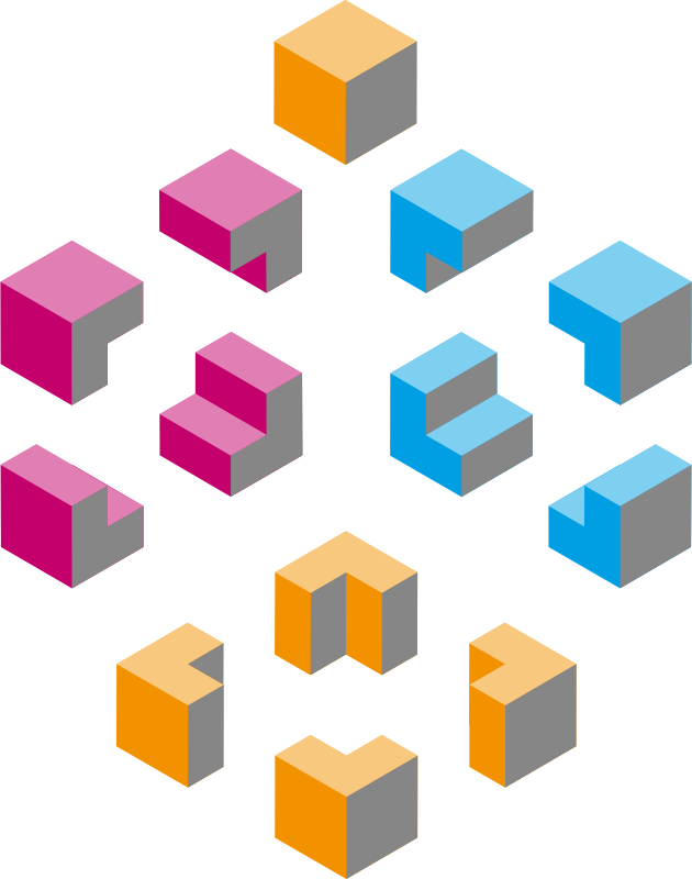 Isometric shapes 1 - cubes
