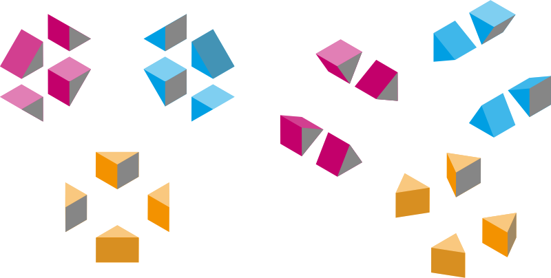 Isometric shapes 2 - triangles