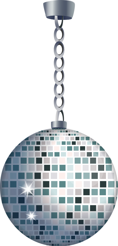 Glitter ball from Glitch