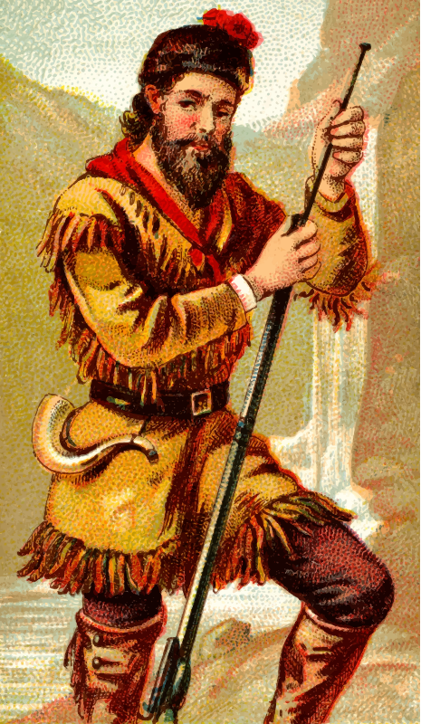 Cigarette card - Rifle