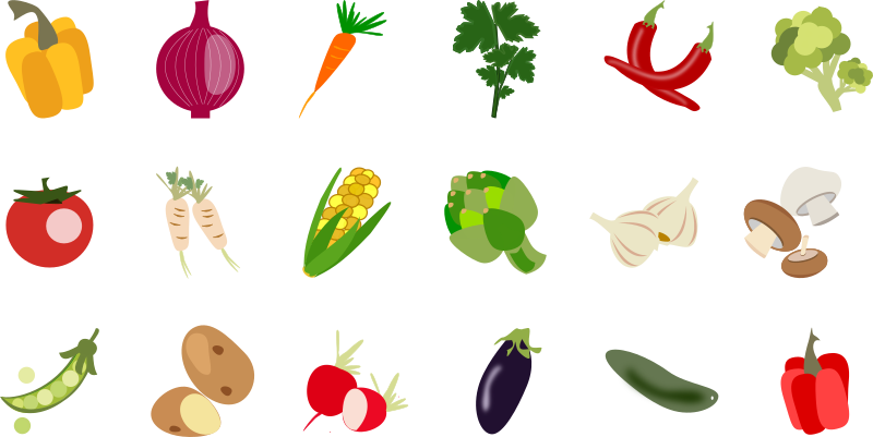 Vegetable Icons 1 package