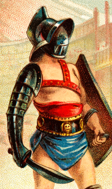 Cigarette card - Gladiator Sword