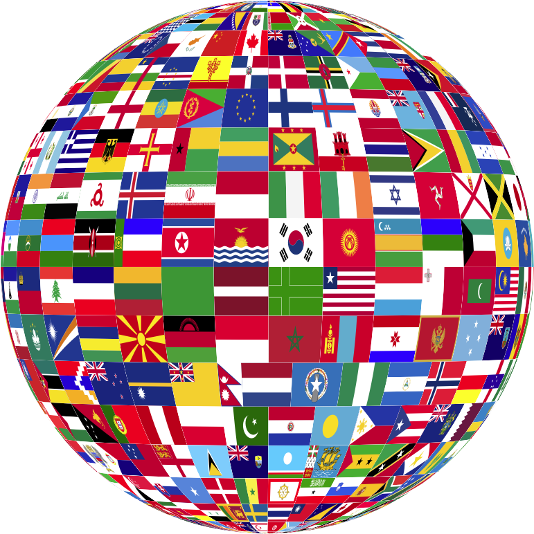 World Flags Globe 3