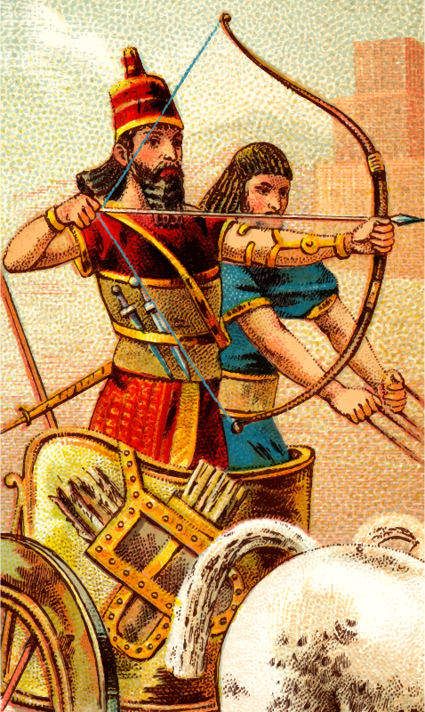 Cigarette card - Bow and Arrow