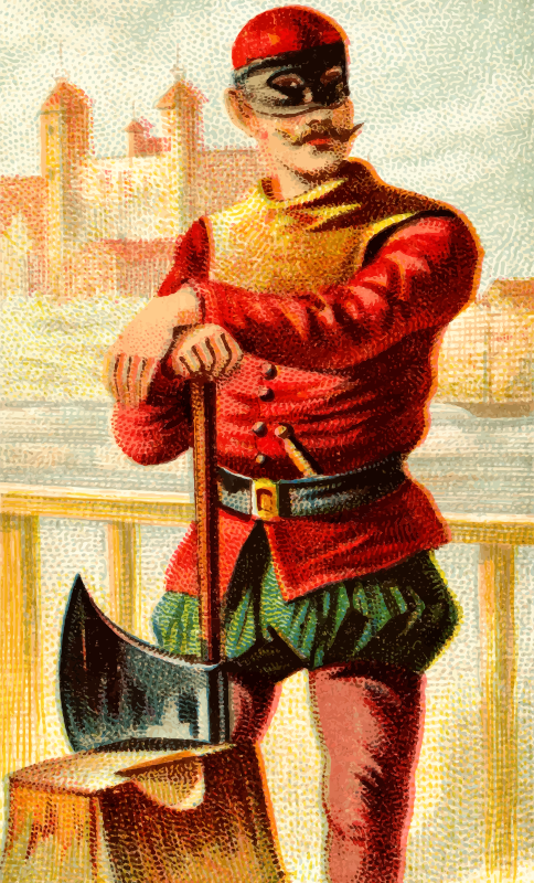 Cigarette card - Headman's Axe