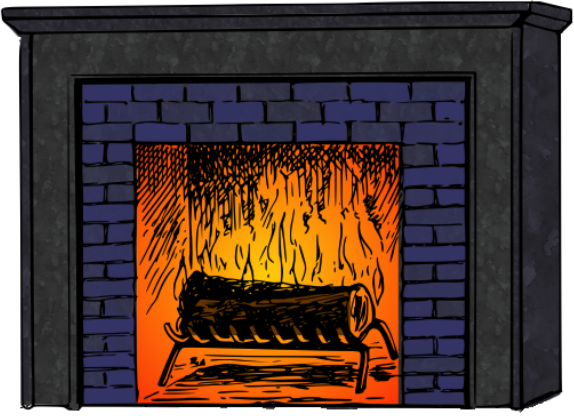 Fireplace 2 colored