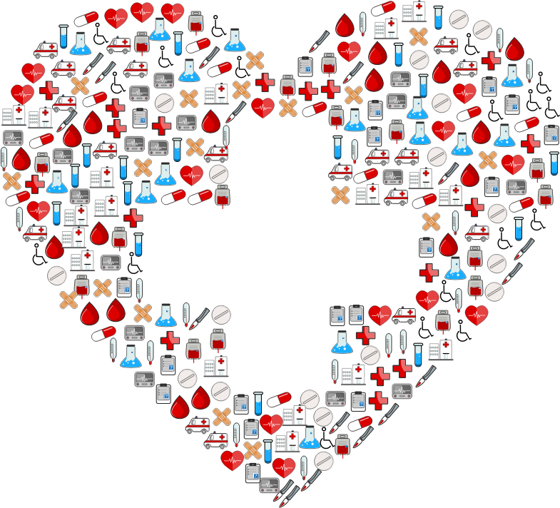 Medical Icons First Aid Heart