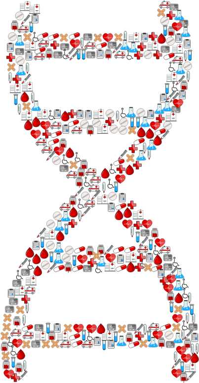 Medical Icons DNA Helix