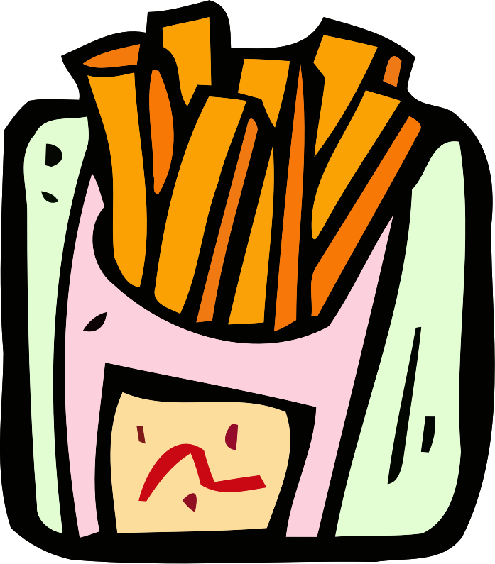 Food and drink icon - fries