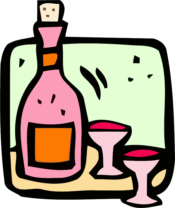 Food and drink icon - wine