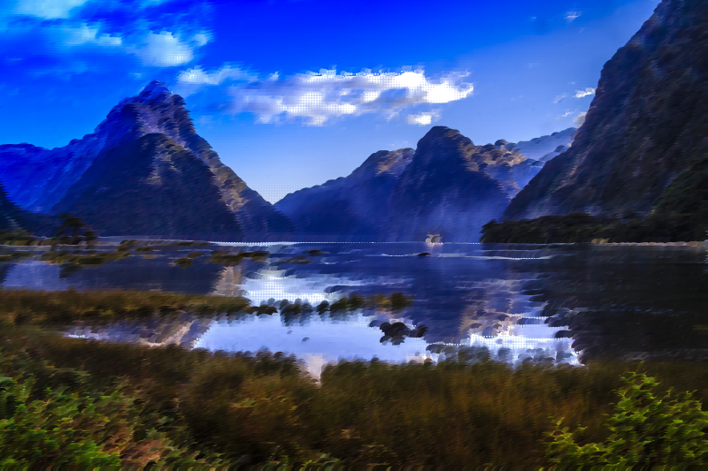 Surreal Milford Sound New Zealand
