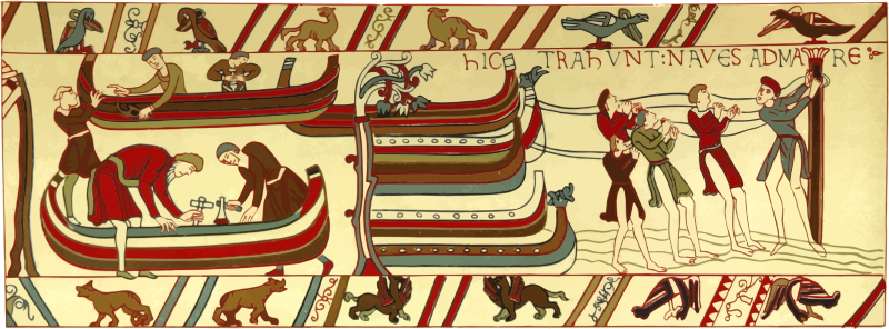 Part of Bayeux Tapestry 1