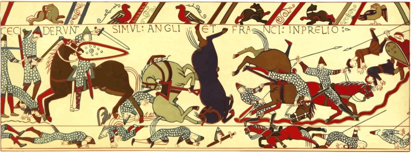 Part of Bayeux Tapestry 4