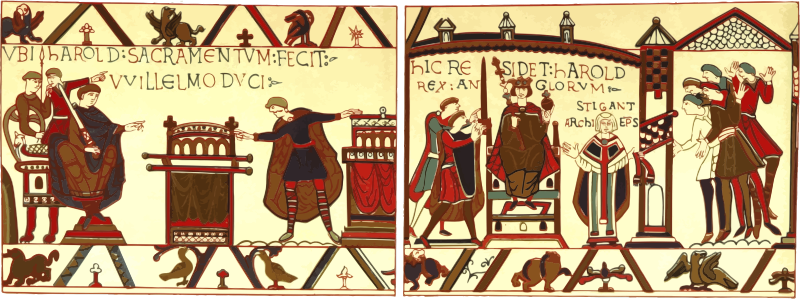 Part of Bayeux Tapestry 5