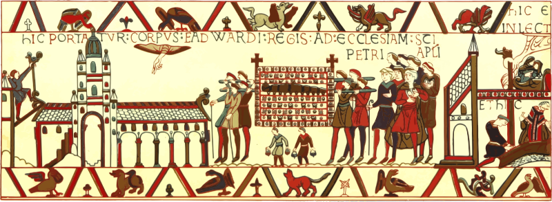 Part of Bayeux Tapestry 6