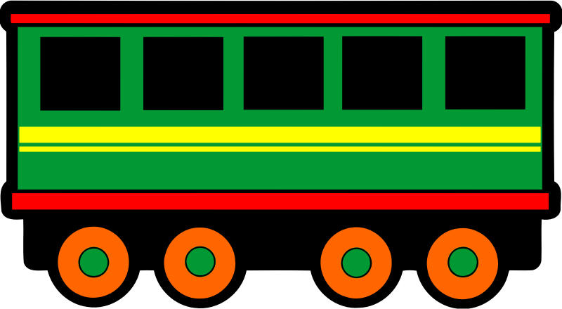 Railway carriage (colour)